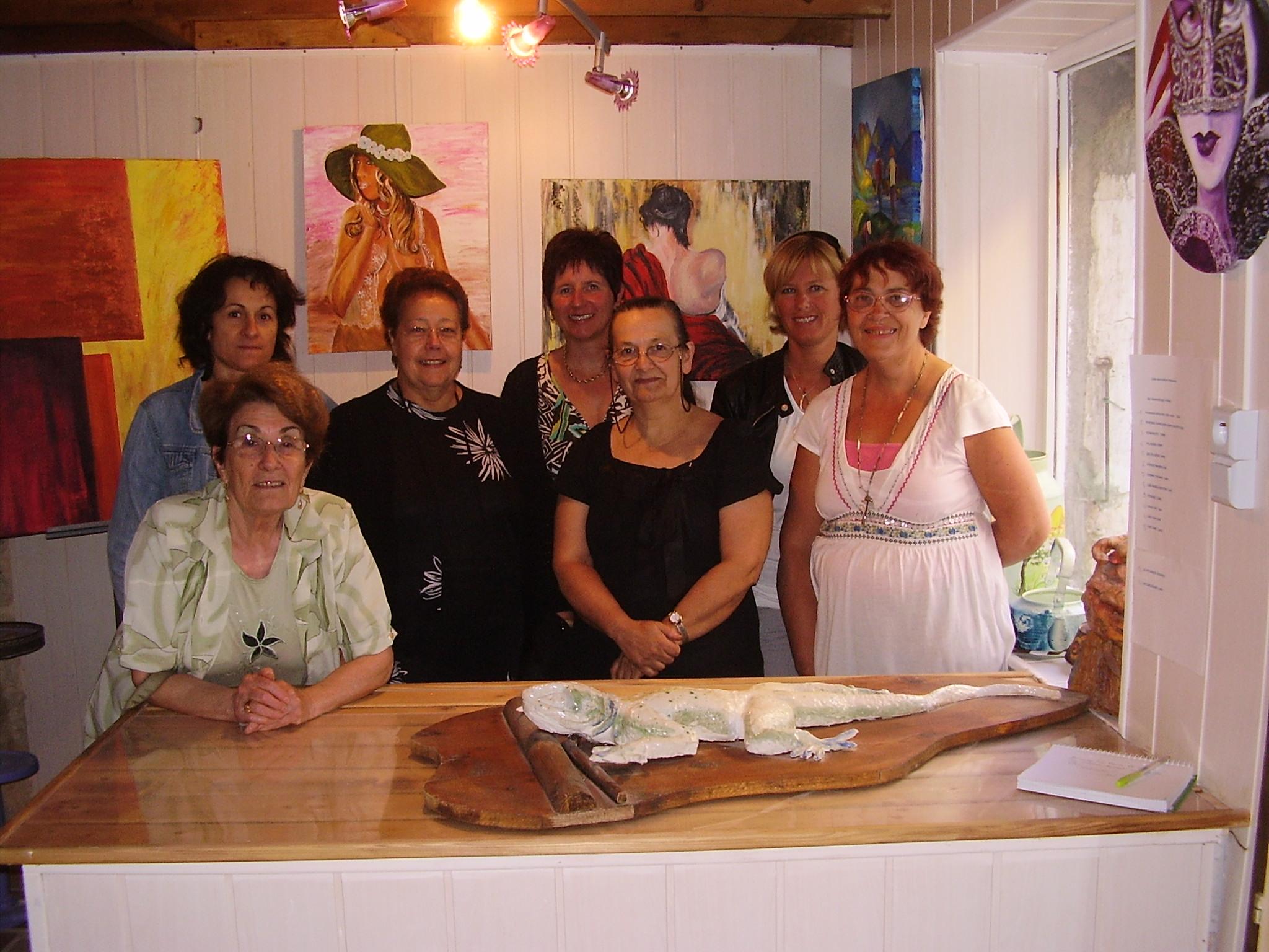 INAUGURATION DE LA GALERIE JUILLET 2009